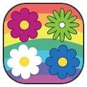 Twisted Flowers Match 3 Puzzle icon