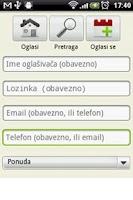 Screenshot of Oglasna Tabla