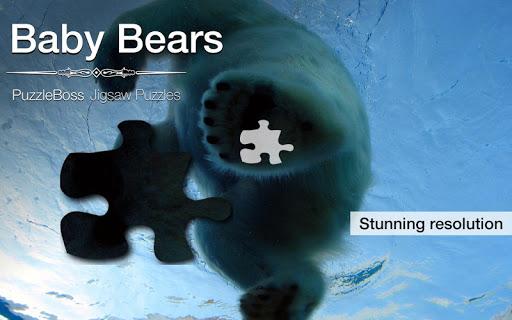 Baby Bears Jigsaw Puzzles