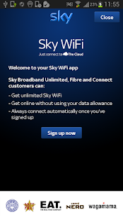 Sky WiFi - screenshot thumbnail
