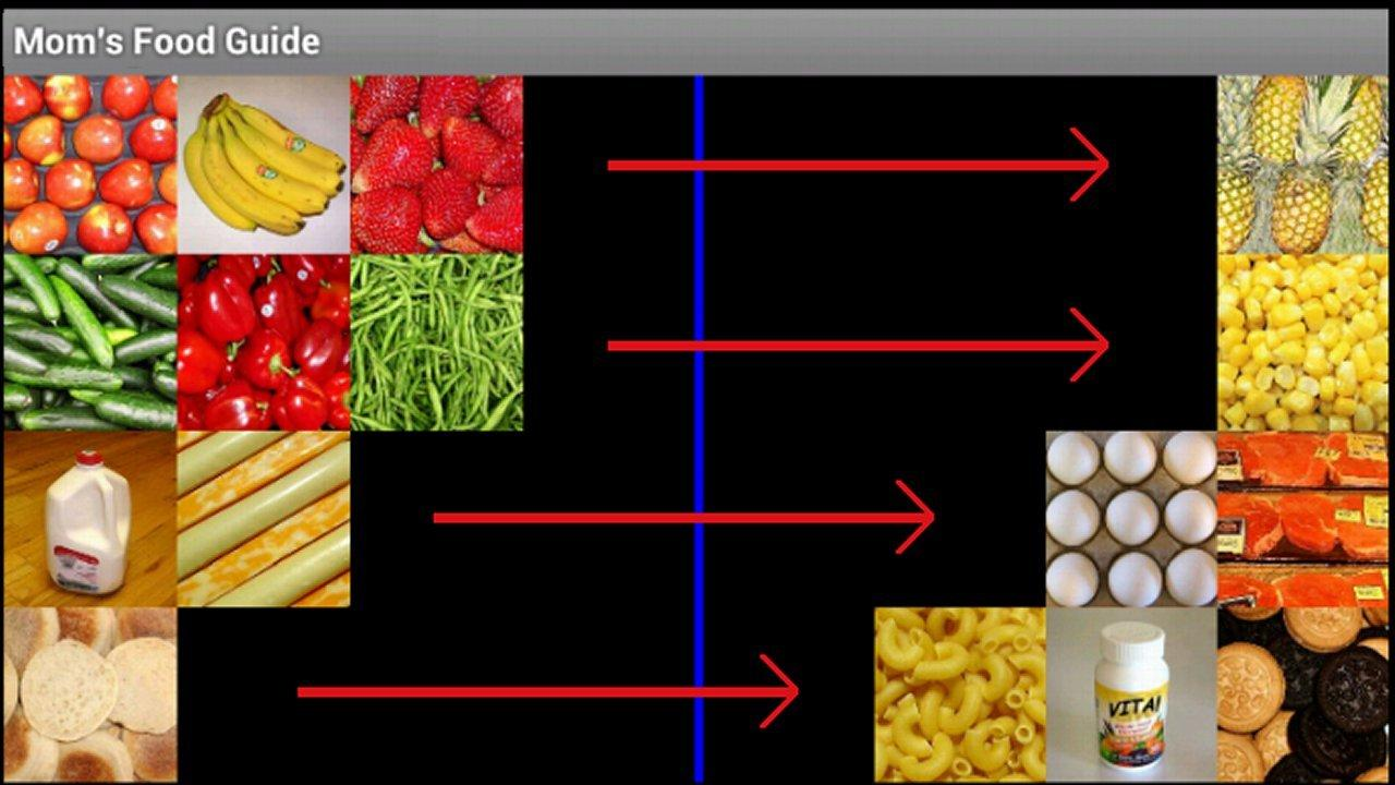 Food Guide Slide Lite - screenshot