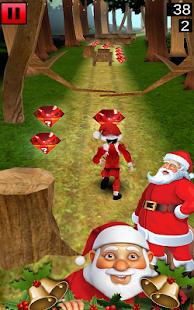 3D Santa Free Run screenshot