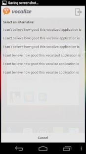 Vocalize for Facebook - screenshot thumbnail