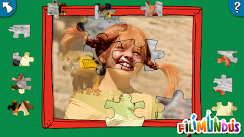 Screenshot of Pippi's Jigsaw Puzzle