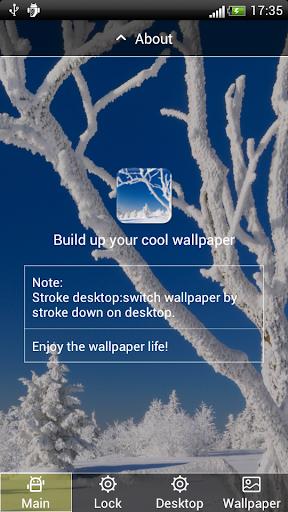 冬季雪景动态壁纸屏幕锁