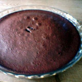 Impossible Brownie Pie.