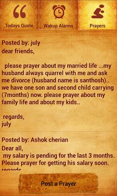 Tamil Bible Alarm - screenshot