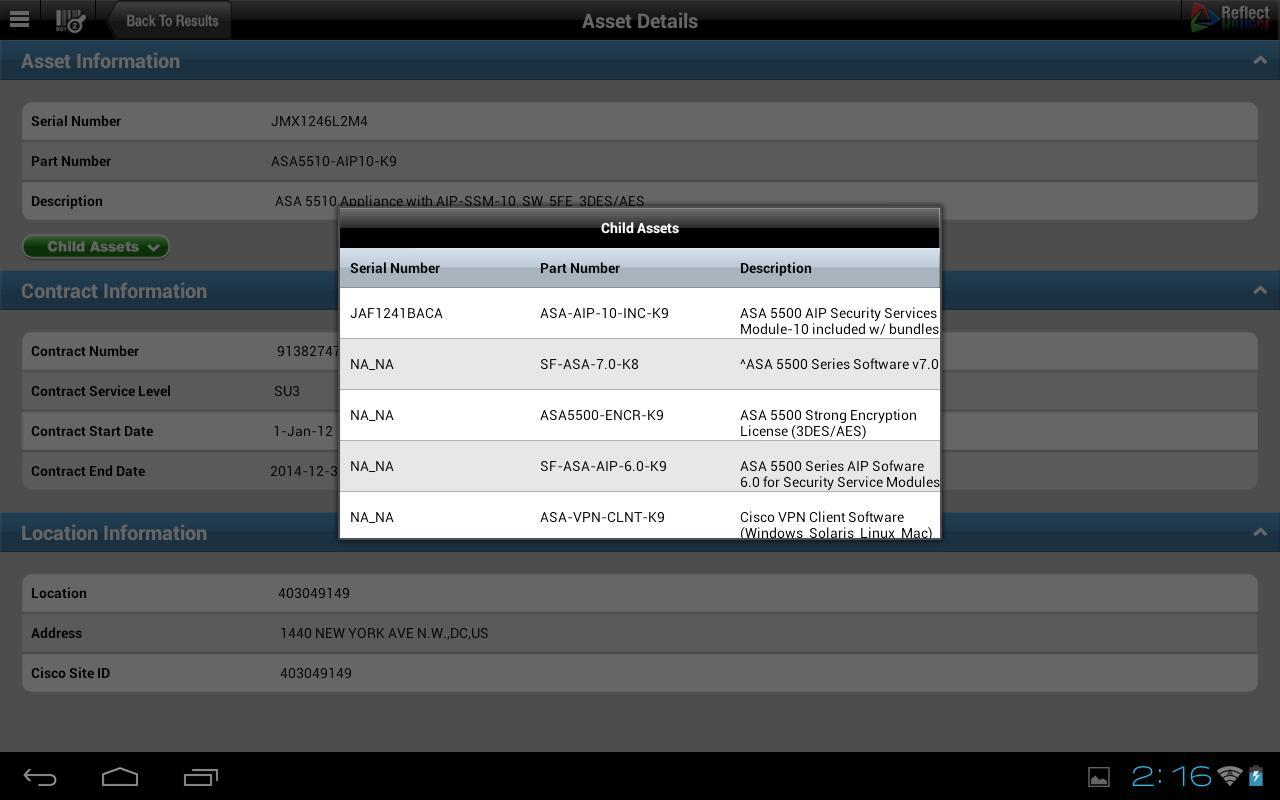 RACS Reflect- screenshot