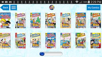 Screenshot of Archie Comics