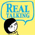 English Restart REAL talking logo