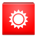 Red Screen Flashlight icon