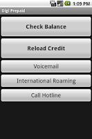 Screenshot of Digi Prepaid