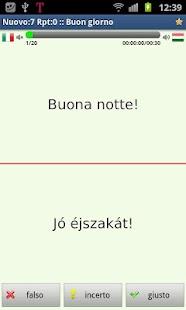 Imparare l'ungherese- screenshot thumbnail
