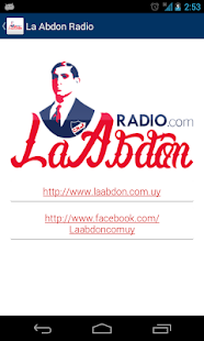 La Abdón Radio- screenshot thumbnail