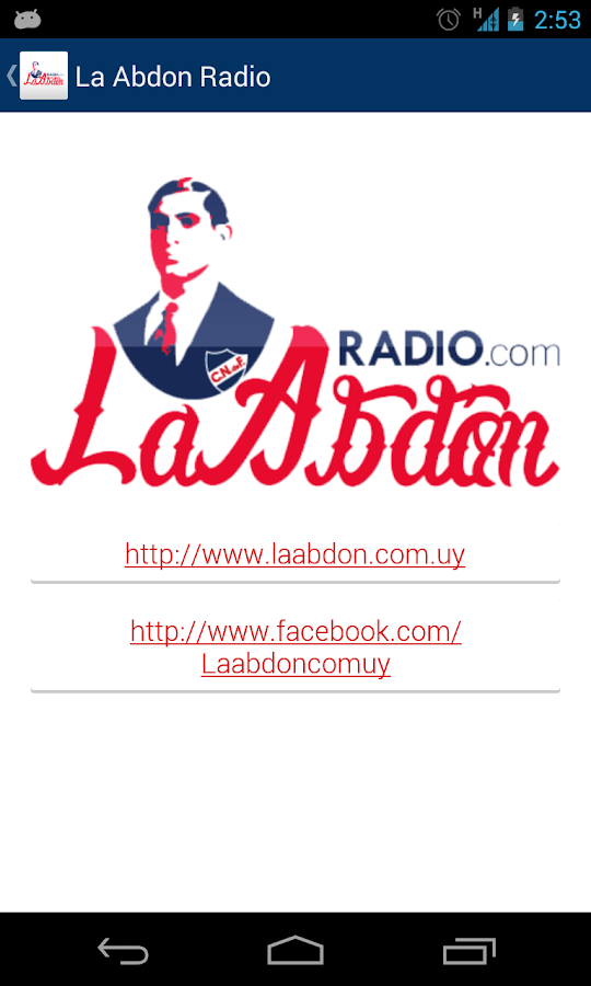 La Abdón Radio- screenshot