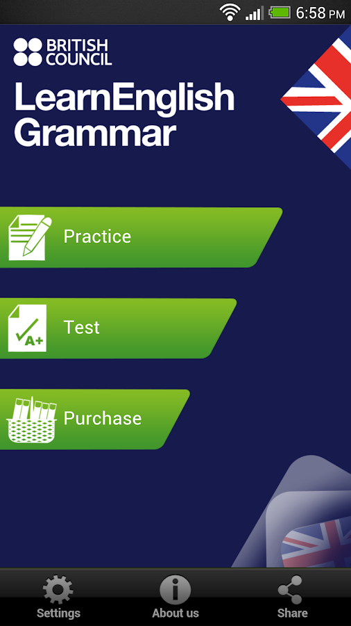 LearnEnglish Grammar (UK ed.) - screenshot
