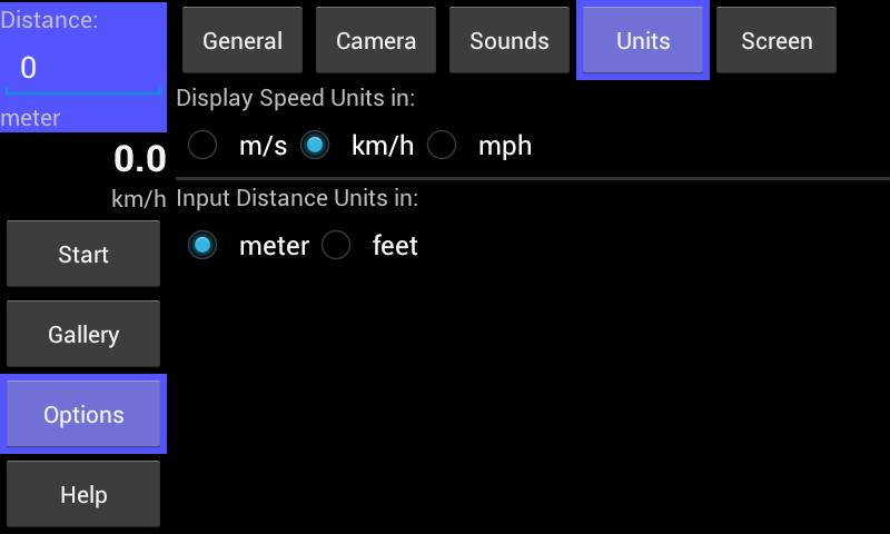 Speed Radar Cam - screenshot