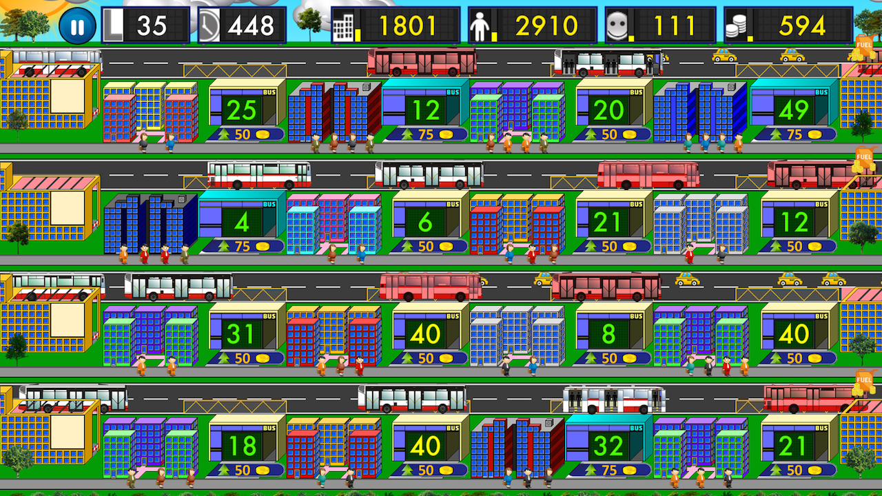 City Bus Tycoon- screenshot