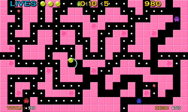 Pac-Ball Lite- screenshot
