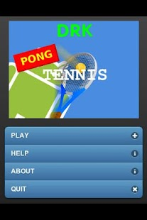 drkPongTennis- screenshot thumbnail