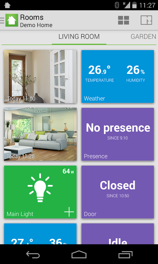 Archos Smart Home- screenshot