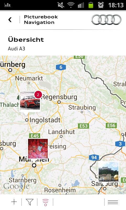 myAudi mobile assistant - screenshot