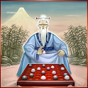 Japan chess board game icon