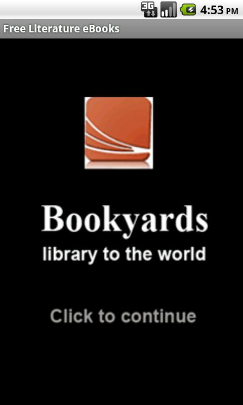 Literature eBooks - screenshot
