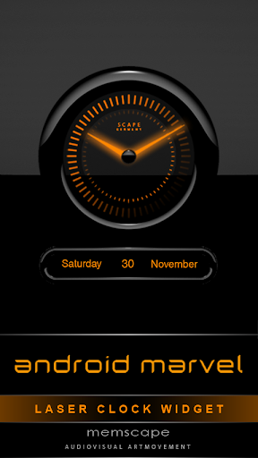 Laser Clock ANDROID MARVEL
