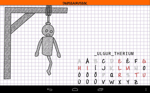 Hangman HD free - screenshot thumbnail