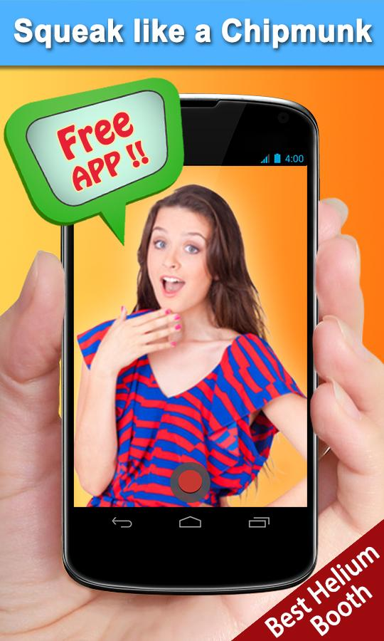 Helium Video Booth Free- screenshot