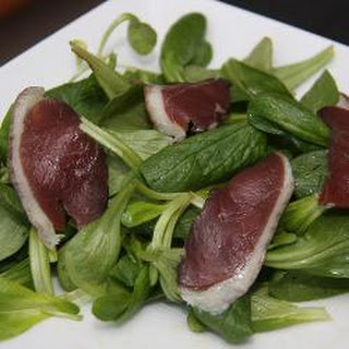 Duck and Walnut Salad.