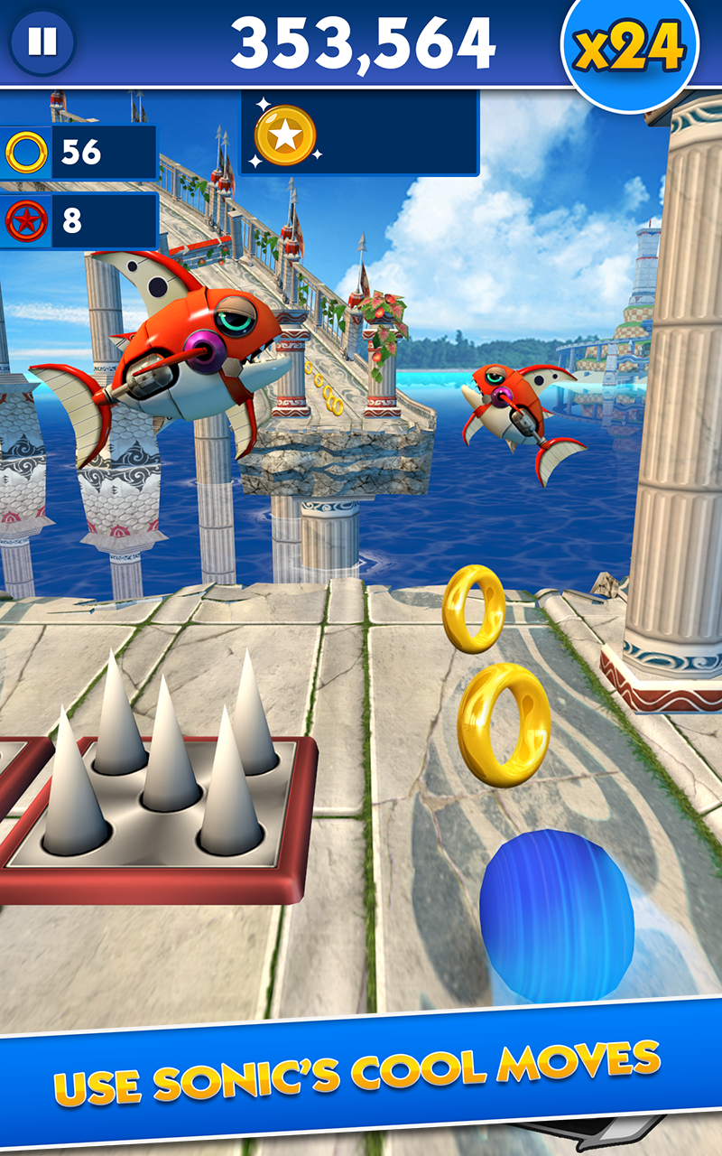 Sonic Dash screenshot #13