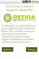 Screenshot of Retina News