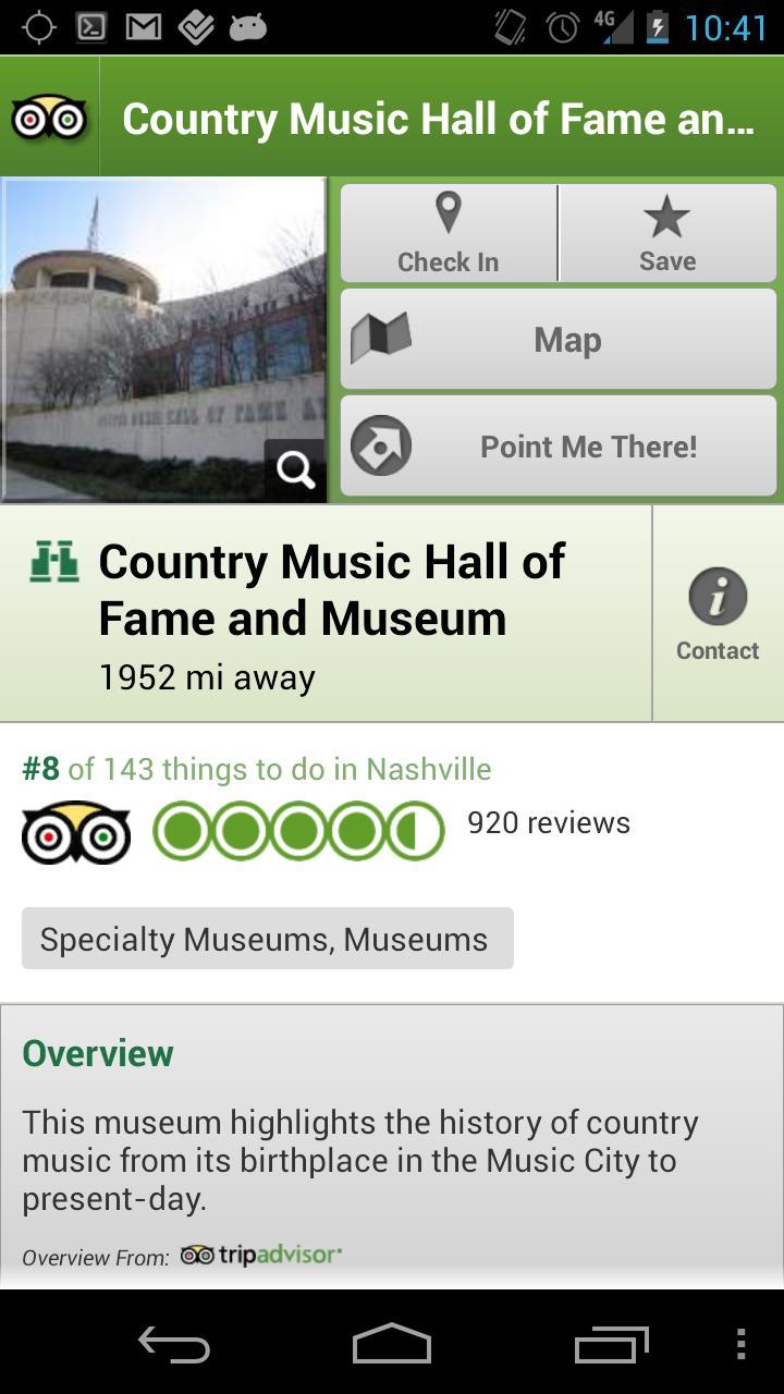 Nashville City Guide screenshot #3