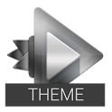 Chrome Theme - Rocket Player icon