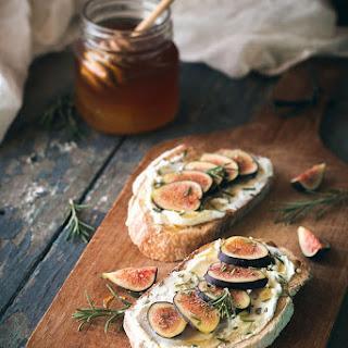 Fig, Rosemary, & Goat Cheese Tartines.