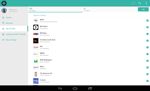 TuneIn Radio Pro - Live Radio Screenshot 21