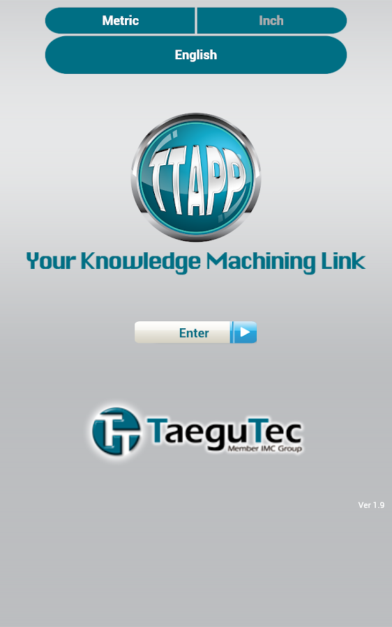 TaeguTec TTAPP - screenshot