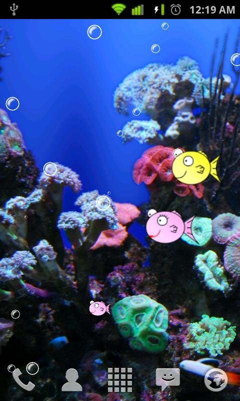 FishBowl Live Wallpaper - screenshot
