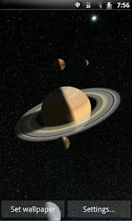 Screenshots for Solar System 3D Wallpaper Pro