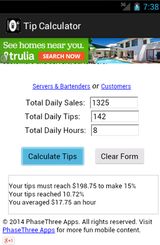 免費財經App|Tip Calculator|阿達玩APP