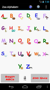 Zoo Alphabet (adfree)- screenshot thumbnail