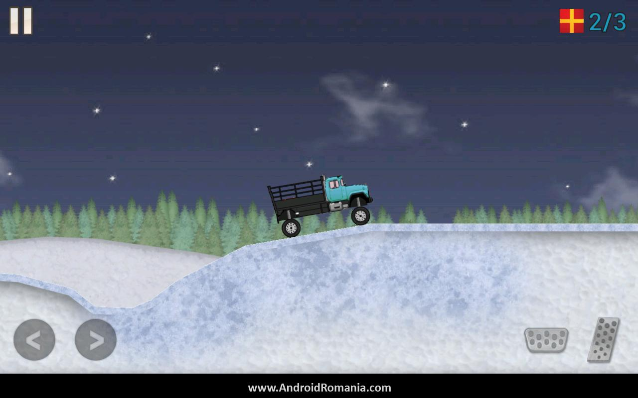 Truck Delivery Winter Edition- screenshot