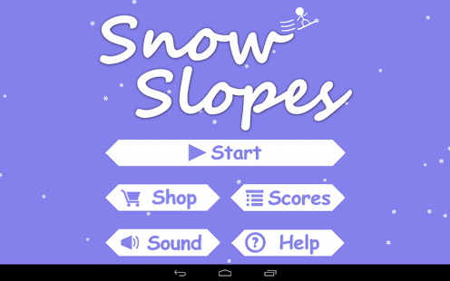 Snow Slopes Free - screenshot thumbnail
