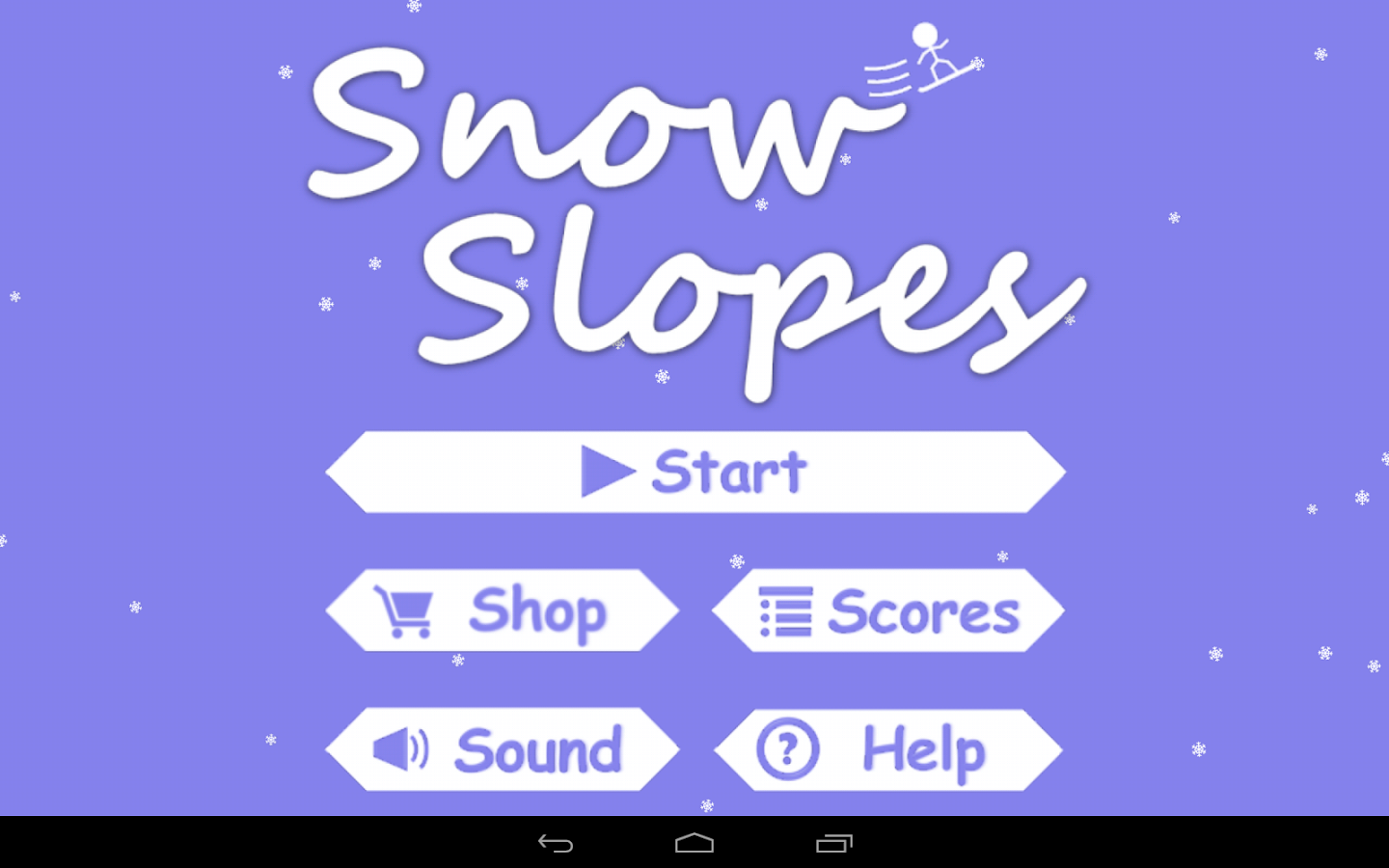 Snow Slopes Free - screenshot