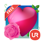 UR Love Hearts 3D Wallpapers