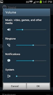 Linked Volume Control - screenshot thumbnail
