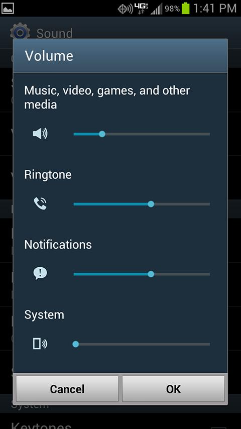 Linked Volume Control - screenshot
