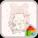 milk happy time dodol theme icon